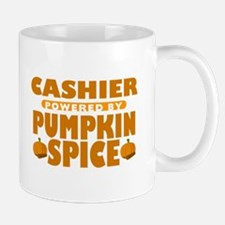 Cashier Powered by Pumpkin Spice Mug