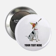 "Personalized Foxhound 2.25"" Button"
