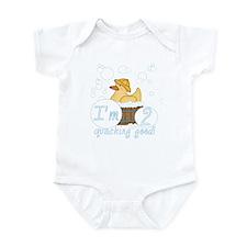 Rubber Duck 2nd Birthday Infant Bodysuit