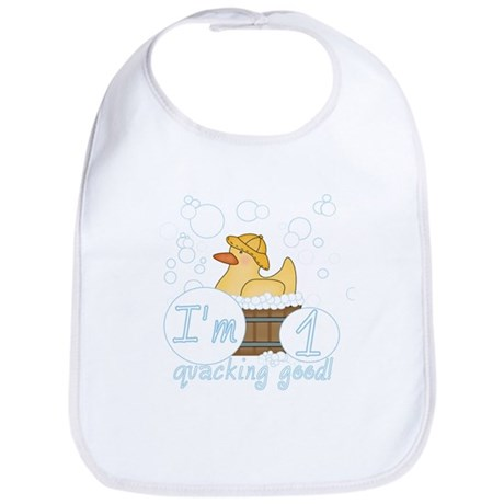 Rubber Duck 1st Birthday Bib