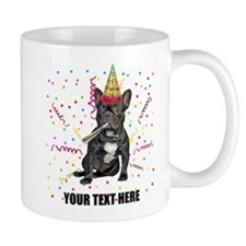 Custom French Bulldog Birthday Mug