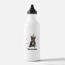 Custom French Bulldog Water Bottle