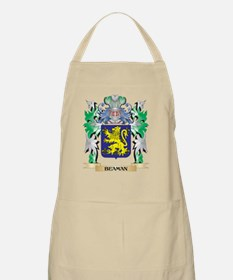 Beaman Coat of Arms - Family Crest Apron