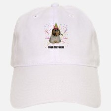Custom Shih Tzu Birthday Baseball Baseball Cap