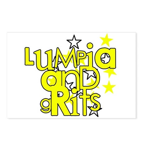 Lumpia & Grits Postcards (Package of 8)