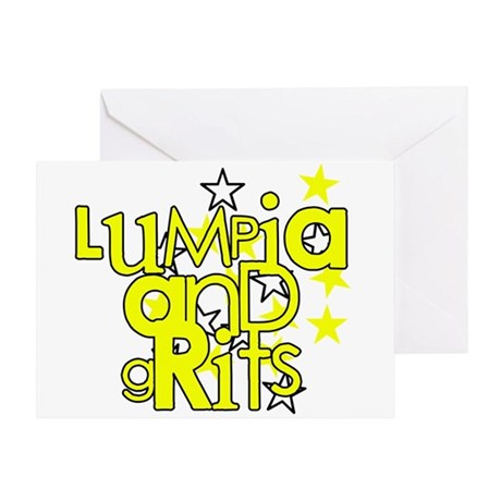 Lumpia & Grits Greeting Card