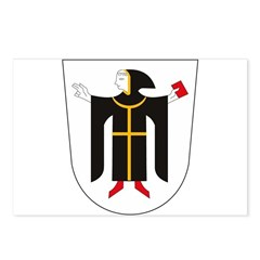 Munchen Coat of Arms Postcards (Package of 8)
