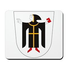 Munchen Coat of Arms Mousepad