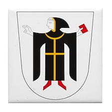 Munchen Coat of Arms Tile Coaster
