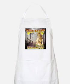 "Team 39 ""Buck Naked "" BBQ Apron"