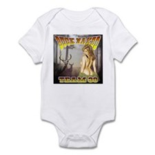"Team 39 ""Buck Naked "" Infant Bodysuit"