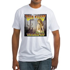 """Team 39 """"Buck Naked """" Fitted T-Shirt"""