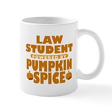 Law Student Powered by Pumpkin Spice Mug