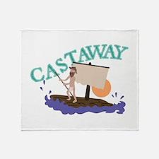 Castaway Throw Blanket