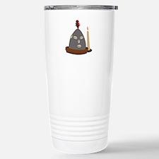 Elegua Statue Travel Mug