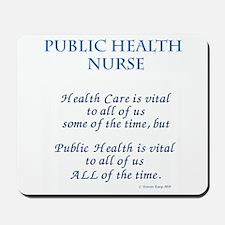 Public Health Nurse Mousepad