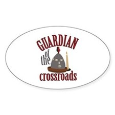Guardian Of Crossroads Decal