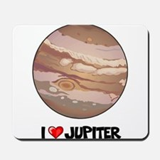I Love Jupiter Mousepad