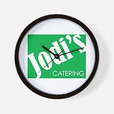 Jodi's Catering Wall Clock