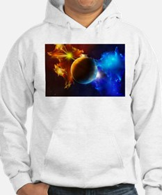 Planet And Space Jumper Hoody