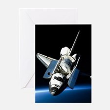 Space Shuttle Greeting Cards