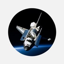 "Space Shuttle 3.5"" Button (100 pack)"