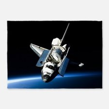 Space Shuttle 5'x7'Area Rug