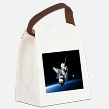 Space Shuttle Canvas Lunch Bag