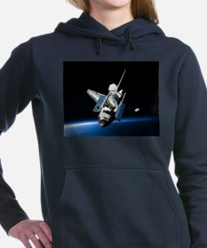 Space Shuttle Women's Hooded Sweatshirt
