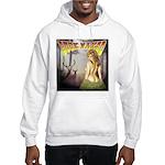 Buck naked nude hunting shirt Hooded Sweatshirt
