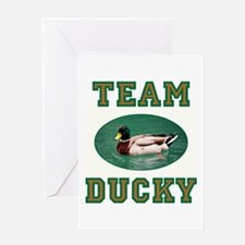 TEAM DUCKY Greeting Cards