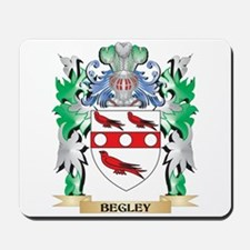 Begley Coat of Arms - Family Crest Mousepad