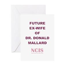 FUTURE EX-WIFE Greeting Card