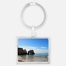Beach Landscape Keychain