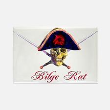 Bilge Rat Rectangle Magnet