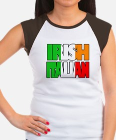 Irish Italian Women's Cap Sleeve T-Shirt