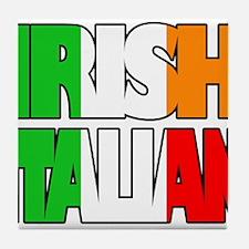 Irish Italian Tile Coaster