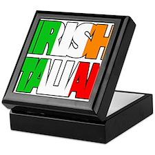 Irish Italian Keepsake Box