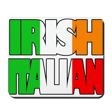 Irish Italian Mousepad
