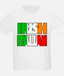 Irish Italian Kids T-Shirt