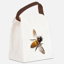 Funny Bee Canvas Lunch Bag