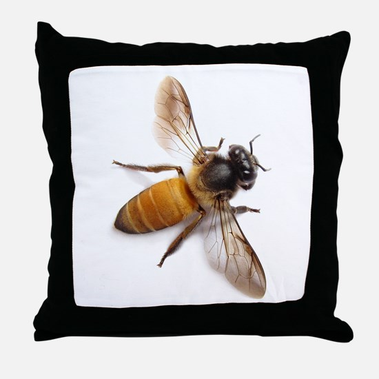 Unique Bees Throw Pillow