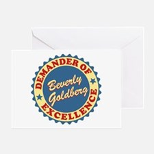 Demander Of Excellence Goldbergs Greeting Cards