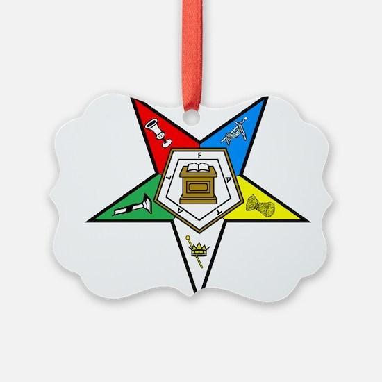 Eastern Star Ornament
