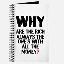 WHY ARE THE RICH ALWAYS THE ONES WITH ALL Journal
