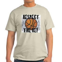Respect the Basketball Ref Natural T-Shirt
