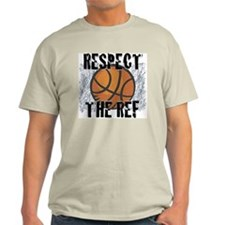 Respect the Basketball Ref Natural T-Shirt