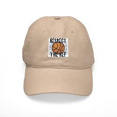 Respect the Basketball Ref Khaki Baseball Cap
