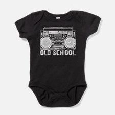 Old School Boombox Baby Bodysuit