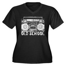 Old School Boombox Plus Size T-Shirt